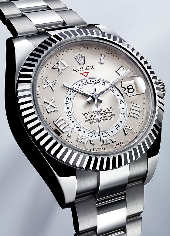 Rolex SkyDweller WG
