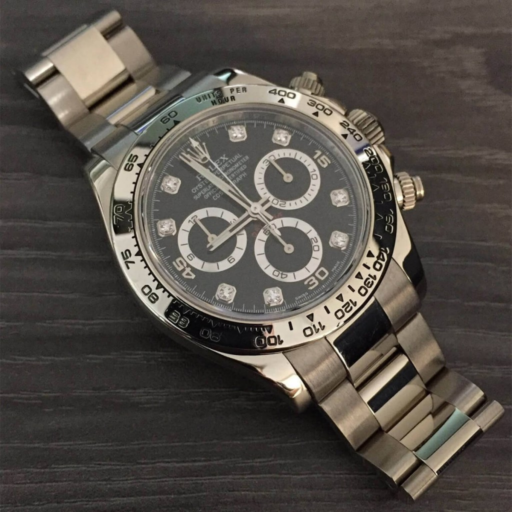 imitacion rolex daytona relojes con pulseras de oro blanco
