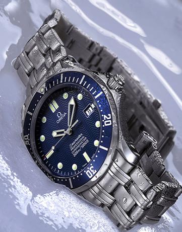 omega seamaster replica relojes con pulseras de acero