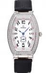 Omega-Sochi-Petrograd-Esfera-Blanca-Diamantes-Relojes-De-Imitación