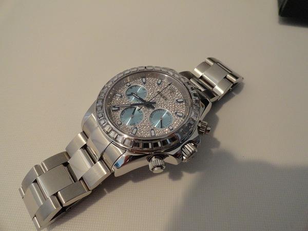Rolex Daytona Diamonds Réplica Reloj Foto Opinión