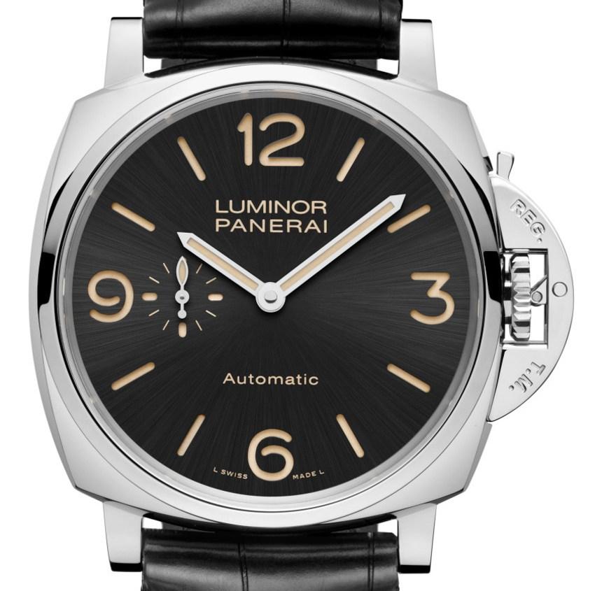 Panerai-Luminor-1950-3-Days-GMT-Black-Dial-Réplica
