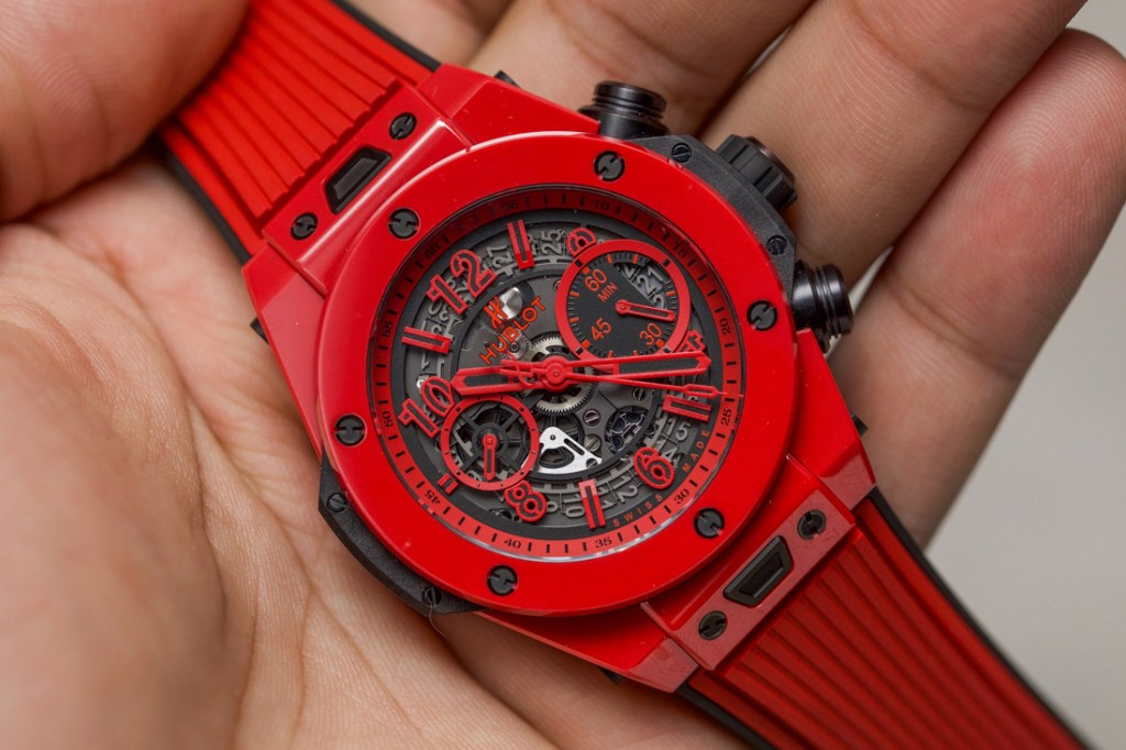 Hublot Big Bang UNICO Red Magic Ceramic Relojes De Imitacion Baratos