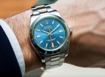 Rolex-Milgauss-Esfera-Azul-Replica