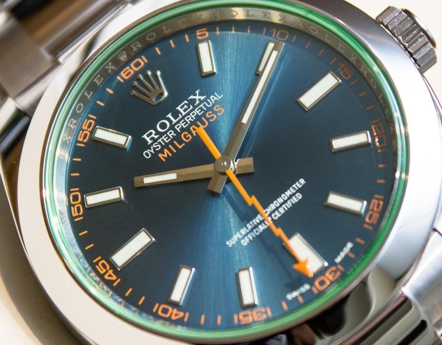 Rolex Milgauss Esfera Azul Replica