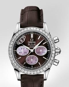 omega de ville co axial ladys chronograph relojes de imitacion