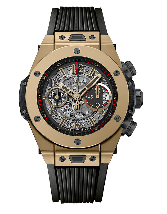 hublot big bang full magic gold relojes de imitacion