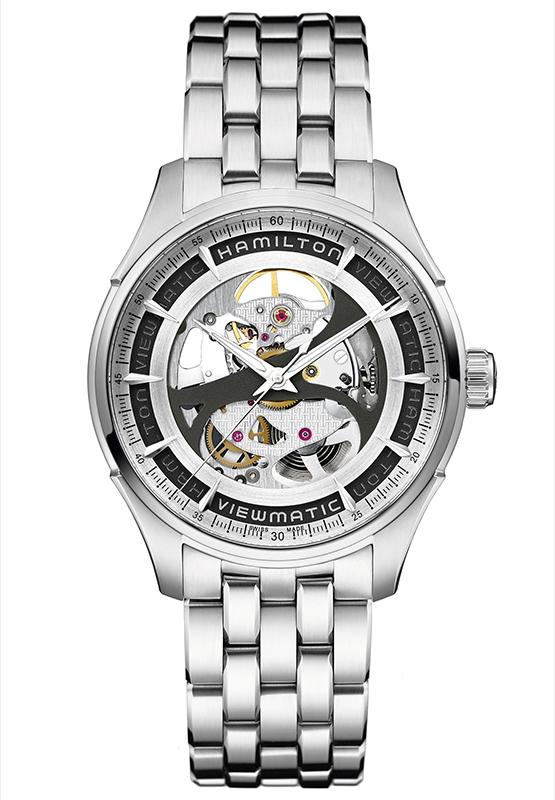 Hamilton Jazzmaster Viewmatic Skeleton Replica Reloj