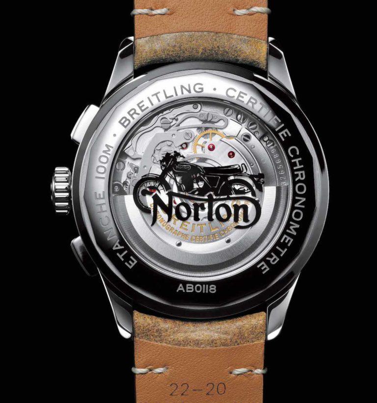 Breitling Premier B01 Norton Edition Replica