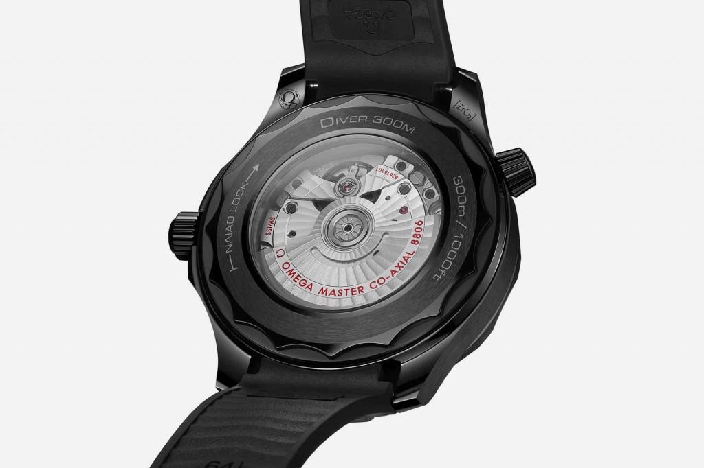 Omega Seamaster Black Black Replica