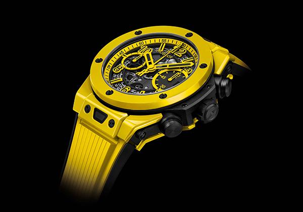 Replicas Hublot Big Bang Magic Yellow